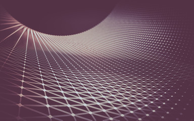 Abstract polygonal space low poly