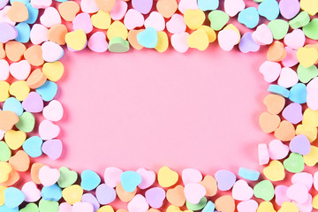 Candy Heart Frame