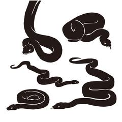 Snake Silhouette Pack