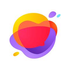 Sphere speech bubble logo