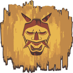 Samurai Mask Nice and simple art with samurai theme for your pc dekstop and your mobile phone