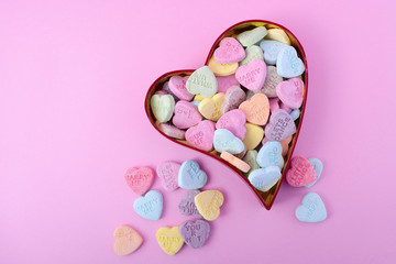 Happy Valentines Day Conversation Candy