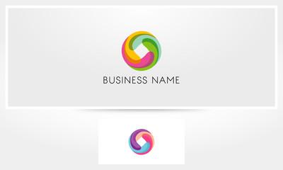 Colorful Swirl Logo