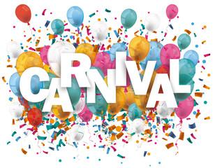 Carnival Balloons Confetti