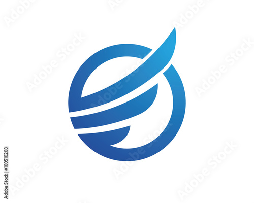 quote wing falcon logo templatequot stock image and royaltyfree