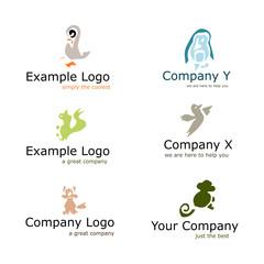 Voorbeeld dieren logo