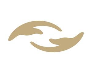 Hands Logo Template