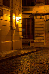 San Telmo at night, Buenos Aires