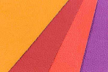 Farbige Leder Muster