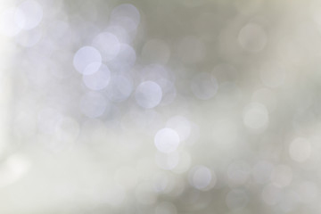 Soft blurred sweet grey bokeh background