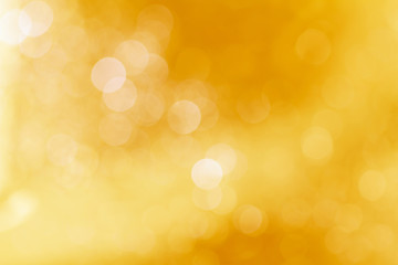 Soft blurred sweet yellow bokeh background