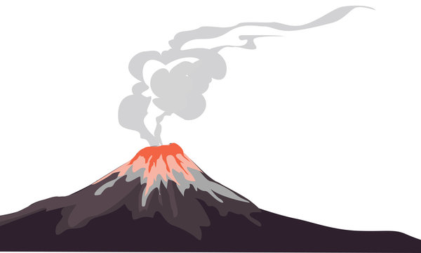 Volcanic Eruption For Disasters