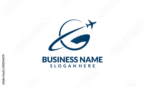 Global travel and tour vector logo design 4 stock for Global design company