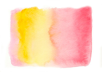 Watercolor Ombre Background. Watercolor Wash. Ombre Watercolor Background. Vector