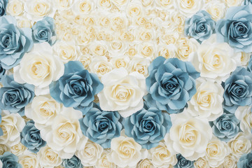 vintage Wedding backdrop with flower