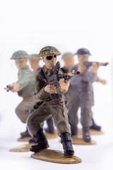 Spielzeug Soldaten