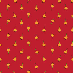 onion sparse pattern red