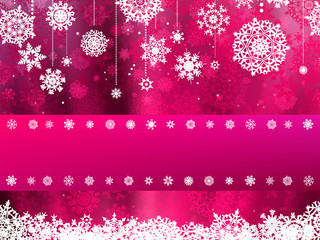 Beige christmas background with snowflake. EPS 8