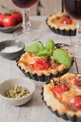 tomato quiche with wine, the national prescription France