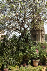Wat Ounalom, Royal Palace in Phnom Penh, Kambodscha