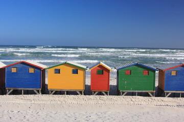 muizenber sudafrica alloggi sulla spiaggia