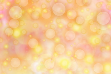 Colorful defocused circles light abstract bokeh background