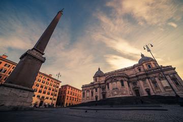 Wall Mural - Rome, Italy: Basilica di Santa Maria Maggiore