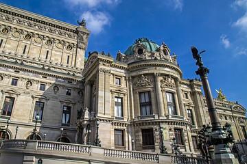 Architectural details of Opera National de Paris