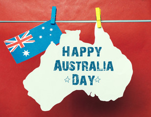 Celebrate Australia Day holiday on 26 January 2016 with a Happy