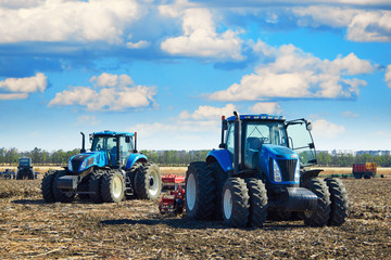 Wall Mural - Modern agricultural machinery