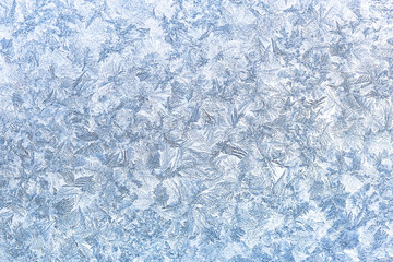 Frozen glass pattern