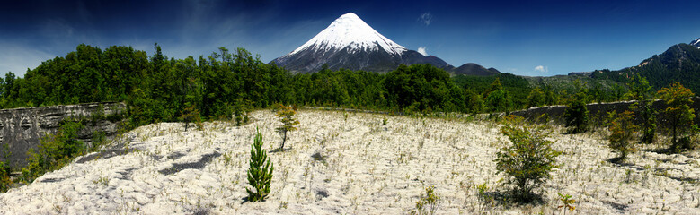 volcano Osorno Fototapete
