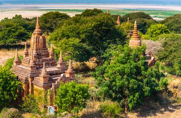 Ancient temple in Bagan, Myanmar