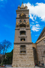 bell tower of messina's cathedral