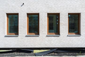 Fenster Gebäude Baustelle