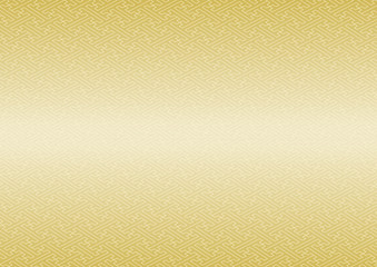 紗綾形模様 伝統文様 和柄 背景 グラデーション 金