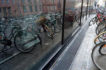 Fahrradparkplatz in Freiburg