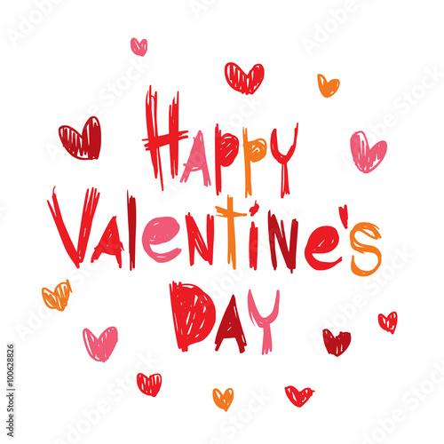 Happy valentines day greeting cards vector illustration fichier vectoriel libre de droits sur - Cartas de san valentin en ingles ...