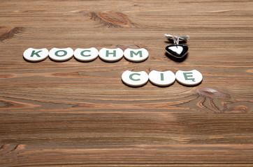 Napisy miłosne z literek