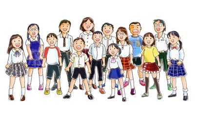 子どもたちの合唱