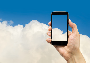 my smartphone in the cloud