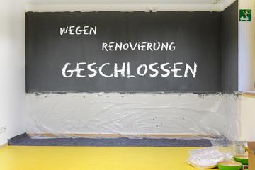 Renovierung Geschäft © Matthias Buehner
