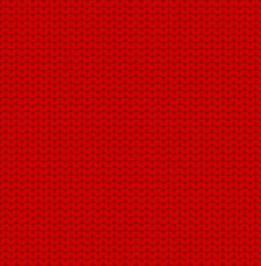 Sweater red pattern vector