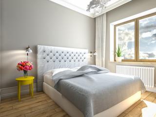 Light, sweet bedroom