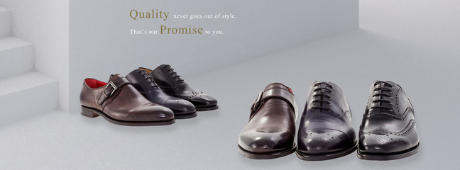 Group of men shoes