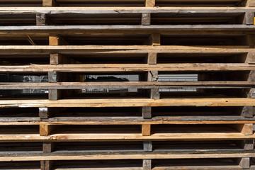Palette Transport, Holzpaletten