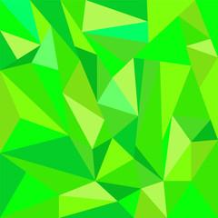 polygon beautiful green background