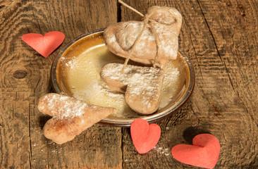 Имбирное печенье в День Святого Валентина