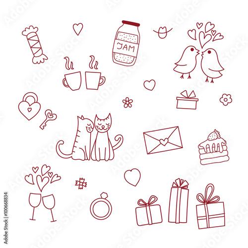 easy love doodles doodles sparkling twine design