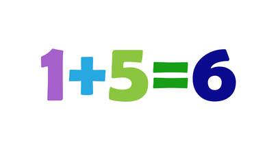 Mathematics 1+5=6